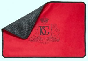 BG WCM 9XL NON SLIP FABRIC + POLAR WOOL + RED MICROFIBER