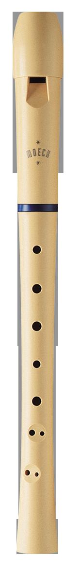Moeck 1020 Flauto 1 Plus Sopran-Blockflöte Rot
